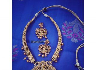 Adorable Necklace Set From Izhaiyini Jewellery