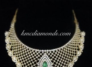 Attractive Diamond Necklace From Kmcl Diamonds