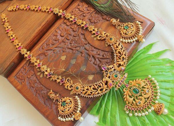 Attractive Long Necklace Set Dreamjwell