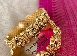 Beautiful Kada Bangles From Sree Exotic Silver Jewelleries