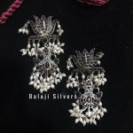Beautiful Lotus Earring From Balaji Silvers