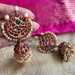 Beautiful Silver Jhumka From Sree Exotic Silver Jewelleries