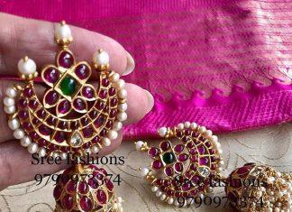 Beautiful Silver Jhumka From Sree Exotic Silver Jewelleries