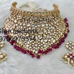 Bold Bridal Choker From Sree Exotic Silver Jewelleries