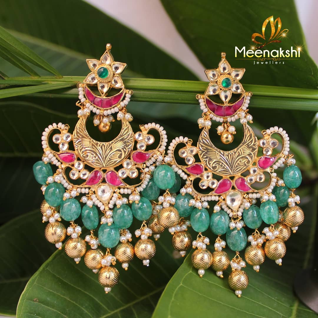 Decorative Earring From Meenakshi Jewellers