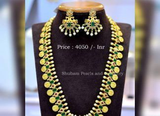 Decorative Long Necklace From Shubam Pearls