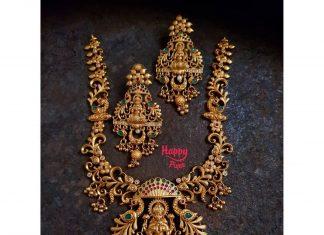 Elegant Ethnic Necklace Set From Happpique
