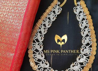 Eye Catching Long Necklace From Ms Pink Panthers