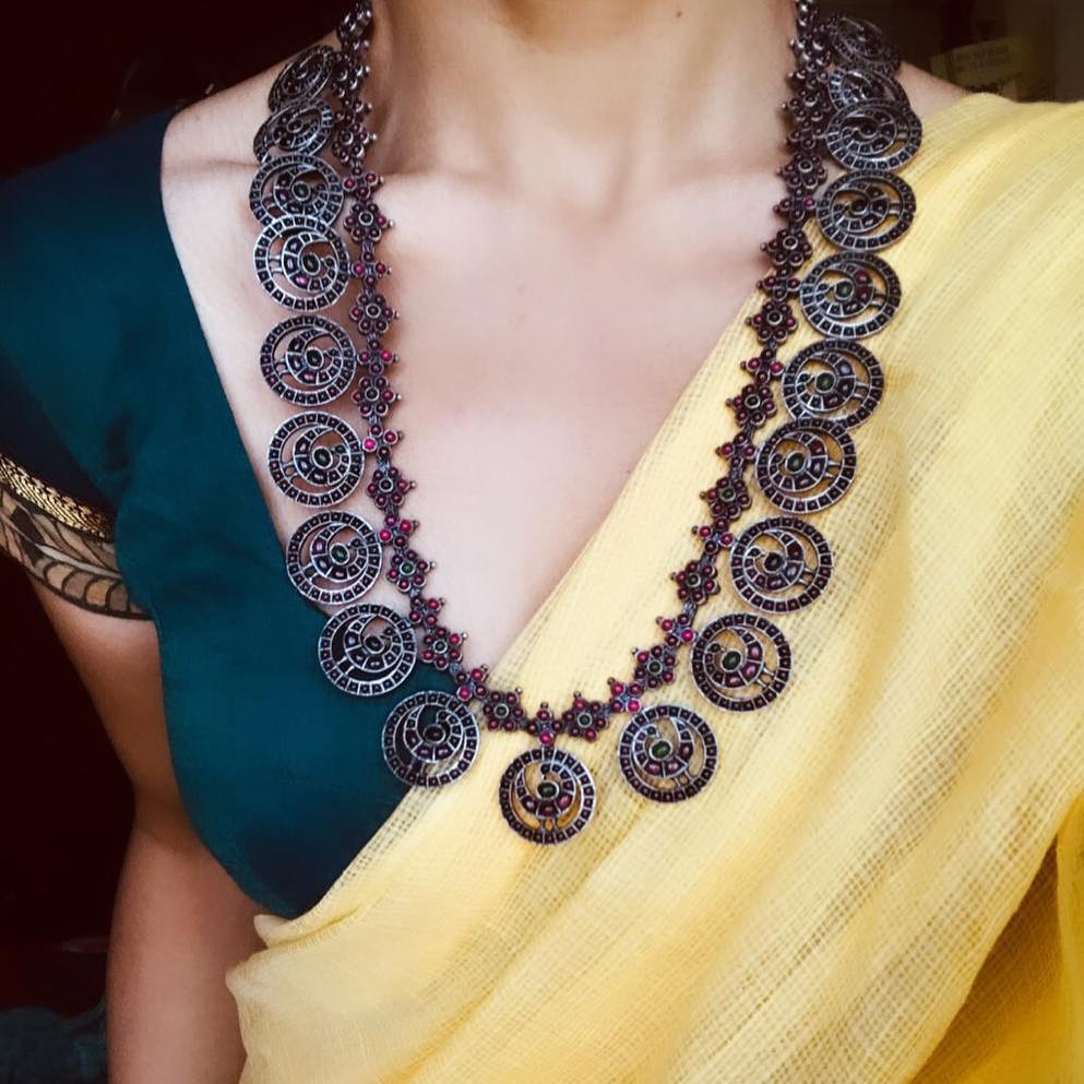 Eye Catching Long Necklace From Prade Jewels