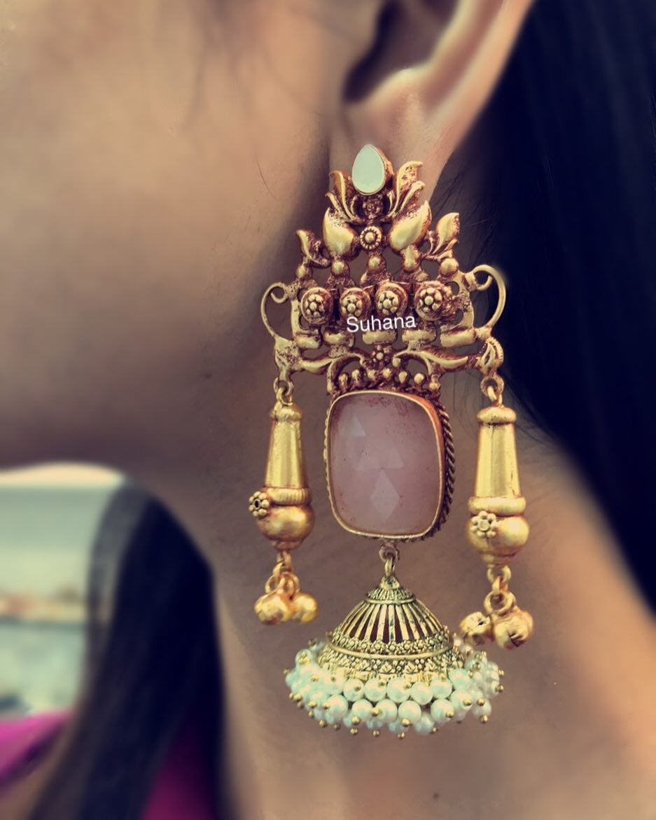 Grand Jhumka From Suhana Art And Jewels