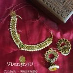 Precious Choker Set From Vdesign4u