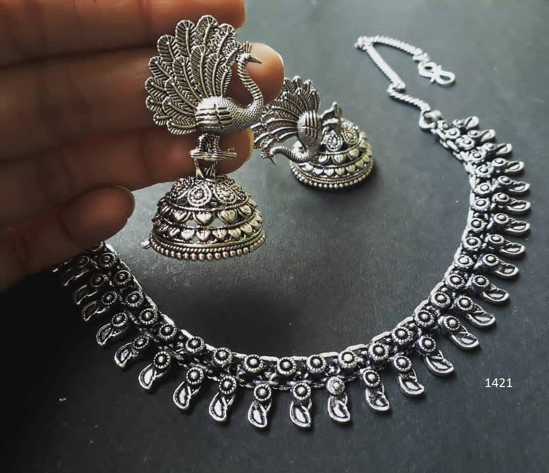 Pretty Necklace Set From Embllish Chennai
