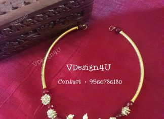 Simple Necklace From Vdesign4u