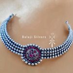 Stylish Simple choker From Balaji Silvers