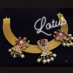 Traditional Silver Necklace From Lotus Silver Jewelleries