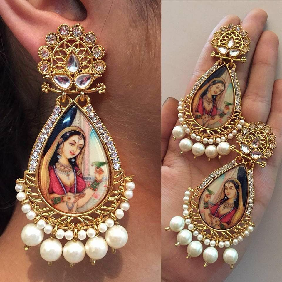 Trendy Earring From Bead Chicz