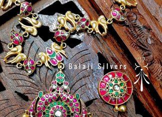 Trendy Long Necklace From Balaji Silvers