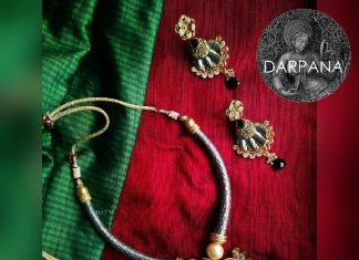 Unique Necklace Set From Darpana