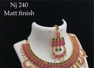 Unique Necklace Set From Lakshmi Fashiana
