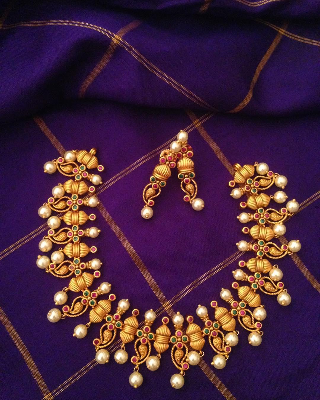 Unique Necklace Set From Surashaa