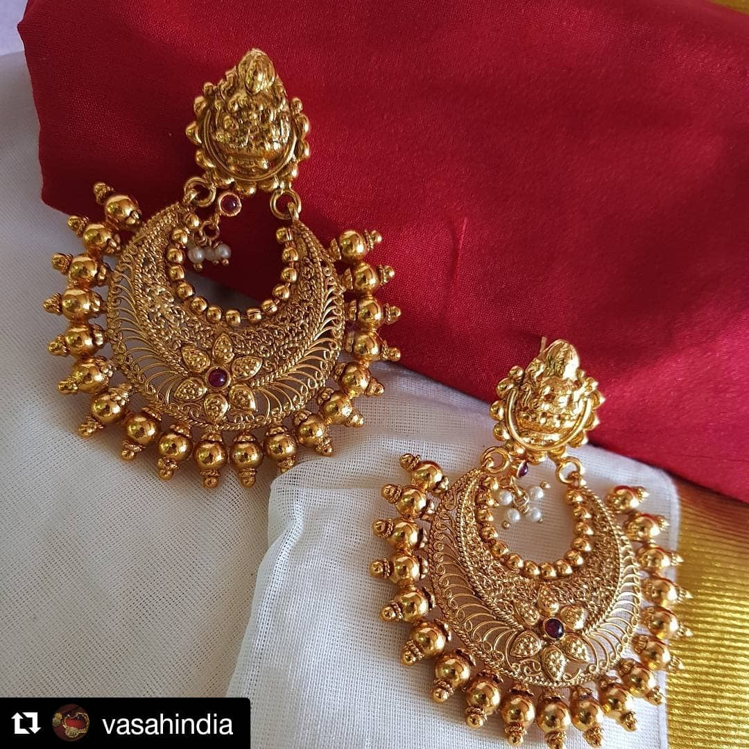 Attractive chaandbali From Vasah India