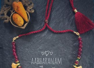 Beautiful Beaded Necklace From Abharanam