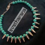 Beautiful Handmade Beaded Necklace From Avatharana