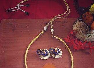 Beautiful Handmade Necklace Set From Azhagi Beads