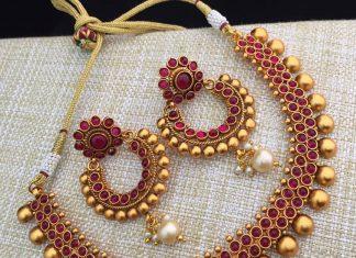 Beautiful Kemp Necklace Set Bead Chicz