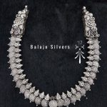 Beautiful Long Necklace From Balaji Silvers.