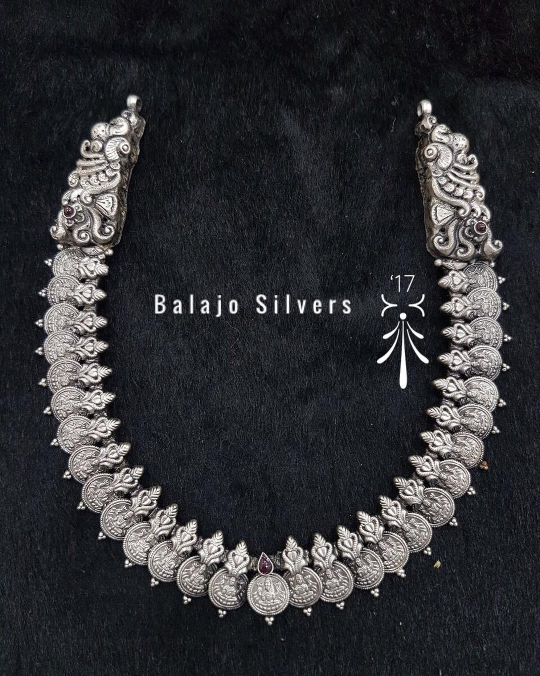 Beautiful Long Necklace From Balaji Silvers