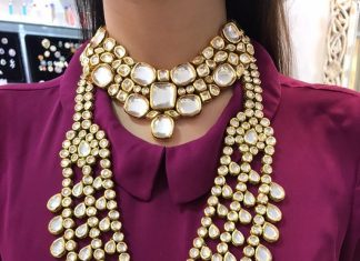 Bold Polki Kundan Bridal Set From Suhana Art And Jewels