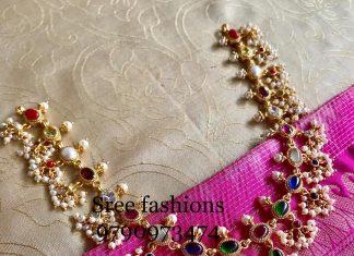 Cute Guttapusalu-Necklace From Sree Exotic Silver Jewellery