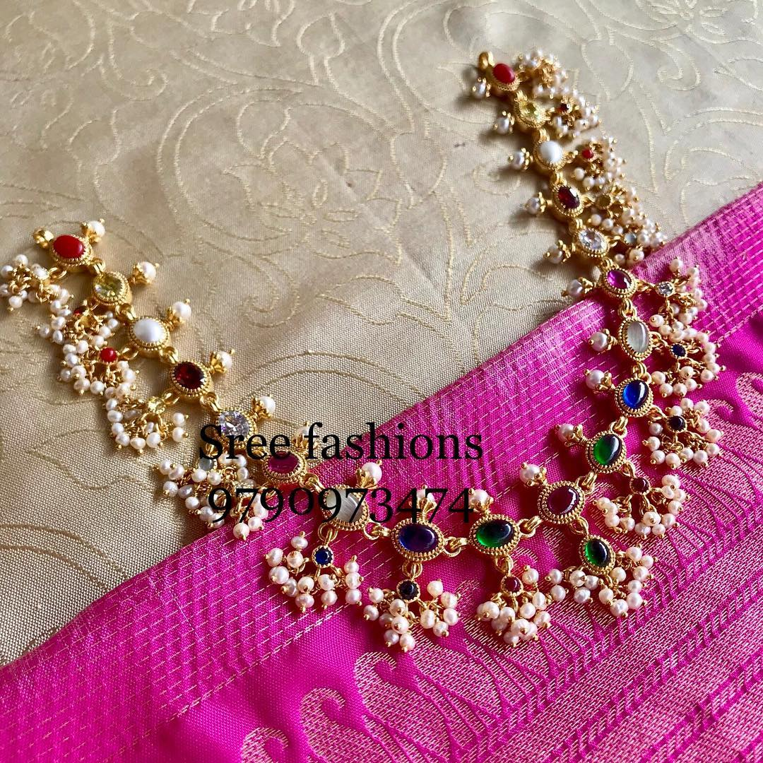 Cute Guttapusalu-Necklace From Sree Exotic Silver Jewellery