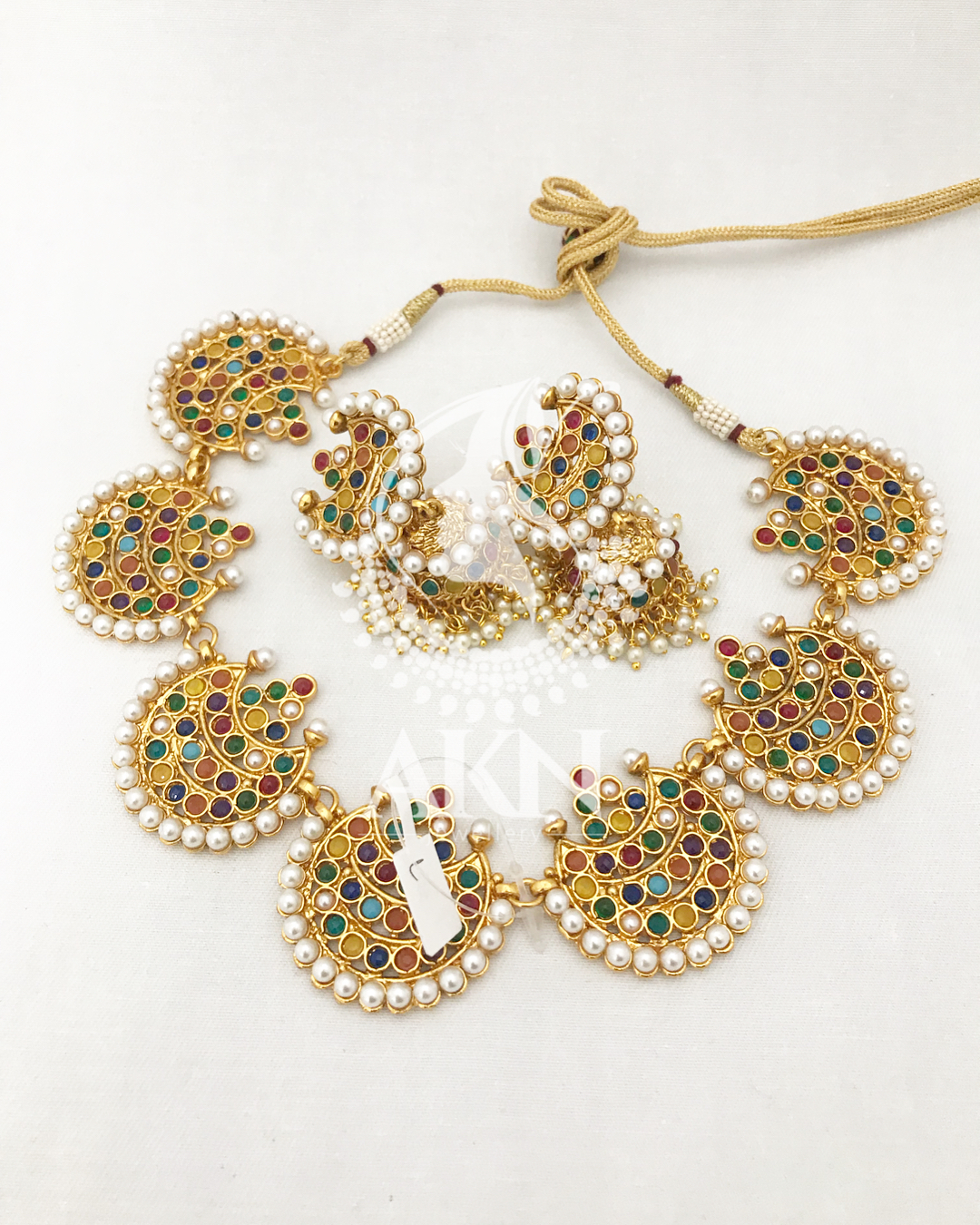 Decorative Necklace Set From AKN Jewellery