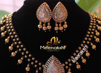 Designer Beaded Necklace From Meenakshi Jewellers
