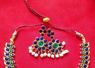 Ethnic Necklace Set From Surashaa