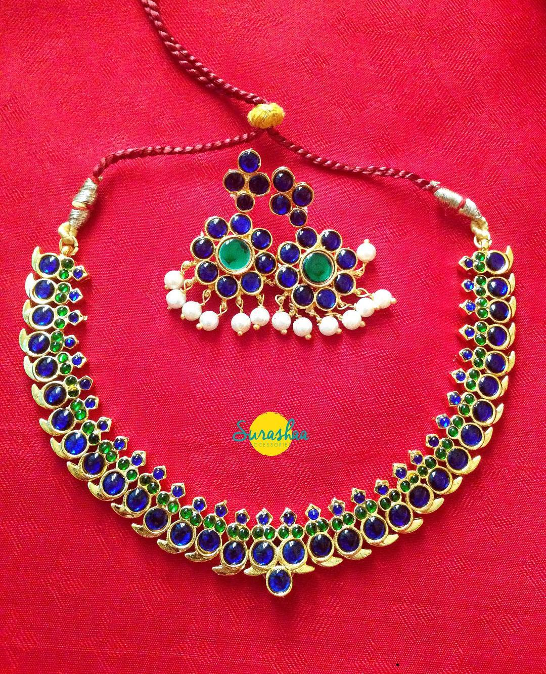 Ethnic Necklace Set From Surashaa