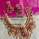 Grand Silver Necklace Set From Sree Exotic Silver Jewellery