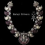 Pure Silver Mango Necklace From Balaji Silvers