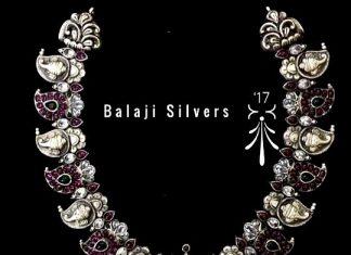 Pure Silver Mango Necklace From Balaji Silvers