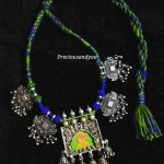 Pure Silver Thread Necklace Set From Precious And You