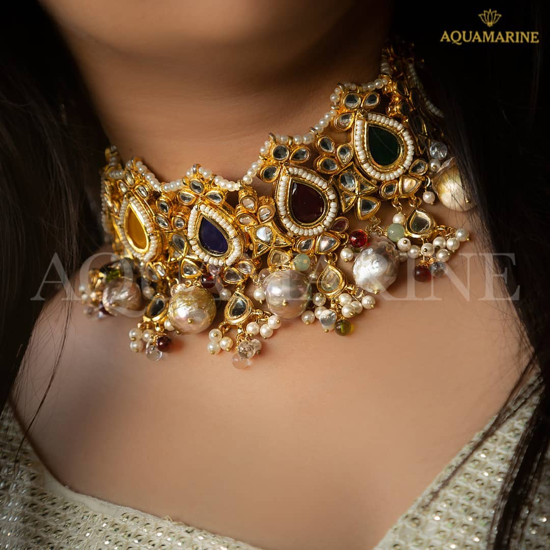Royal Choker From Aquamarine Jewellery