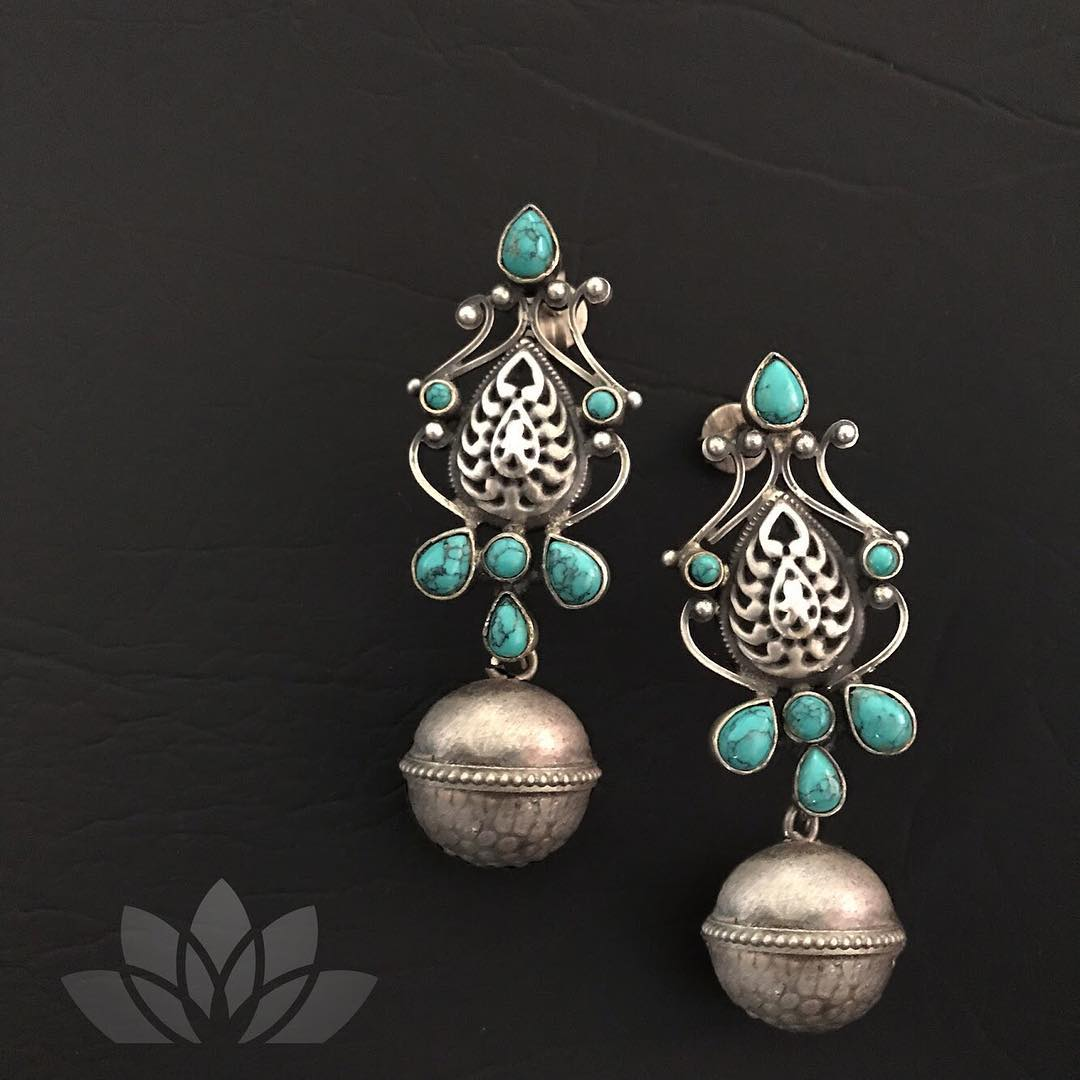Stunning Silver Earring From Prade Jewels