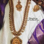 Traditional Temple Necklace Set From Shayus