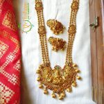 Traditional Temple Necklace Set From Vriksham