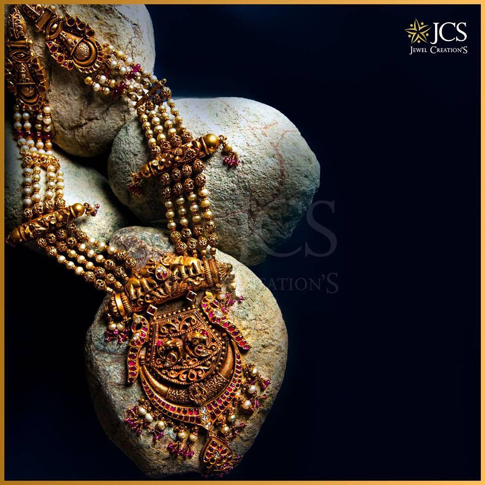 Antique Gold Pearl Haram From JCS Jewel Creations