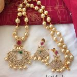 Attractive Necklace Set From Kirthi Fashions
