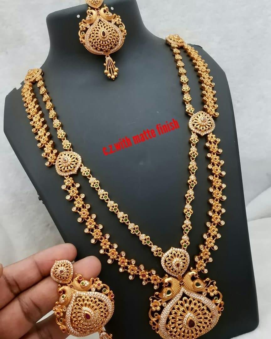 Beautiful Bridal Necklace From Lakshmi Fashiana