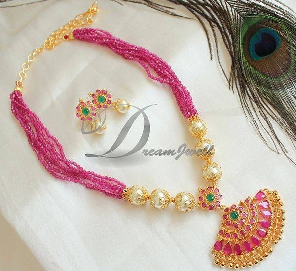 Beautiful Pink Necklace From Dreamjwell